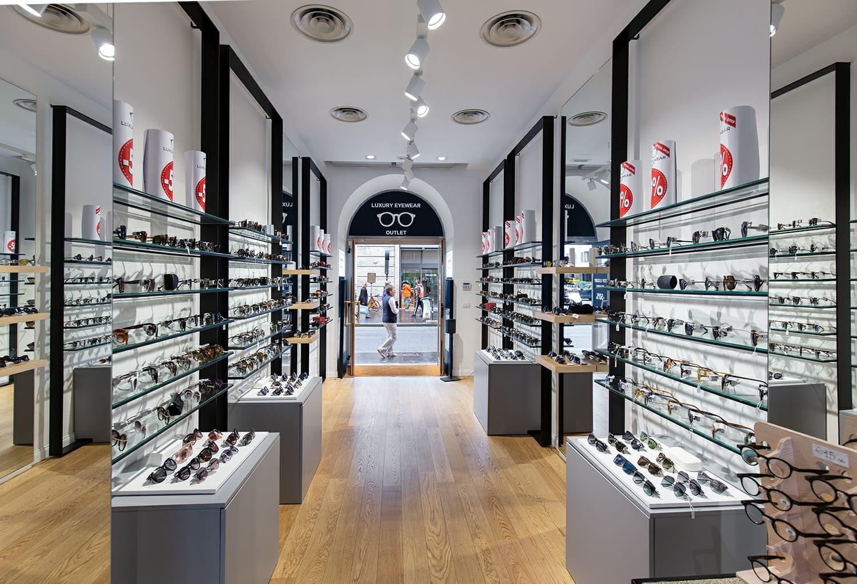 Arredamento Outlet Roma.Ottica Luxury Eyewear Largo Chigi E Via Del Corso Roma Co