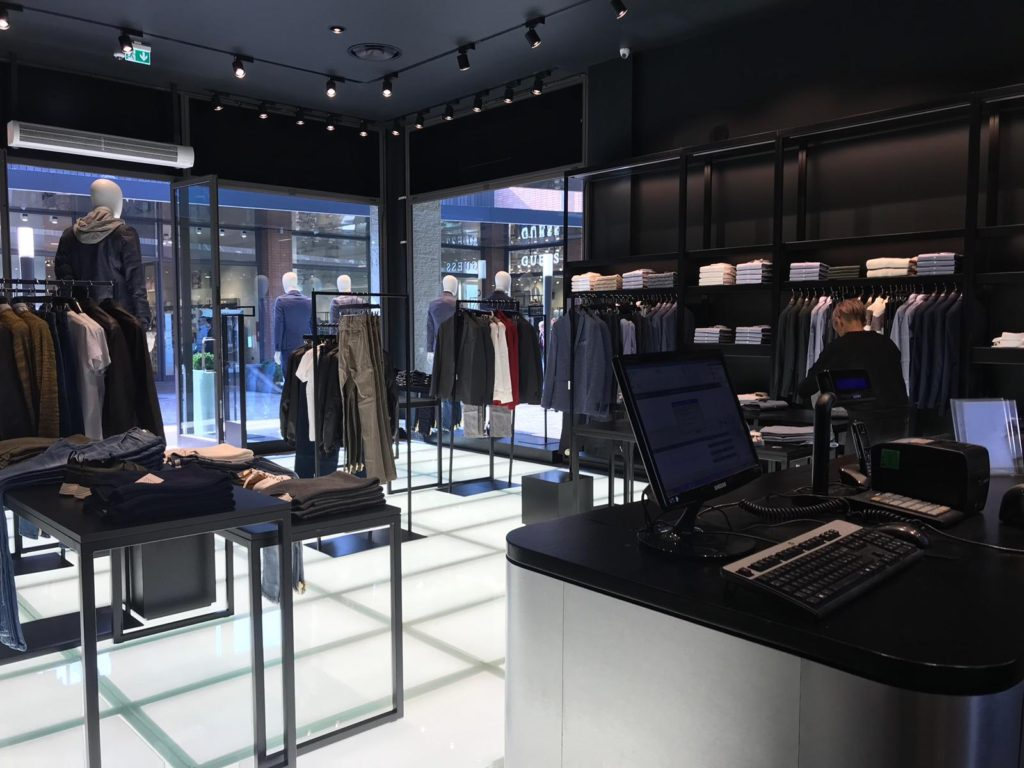 arredamento showroom david naman roma e vicolungo co de